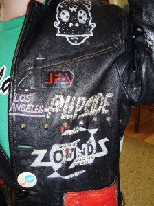Hudley Flipside's Leather Jacket