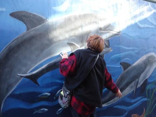 At Santa Monica Pier..