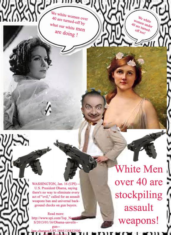 Stupid white menover 40