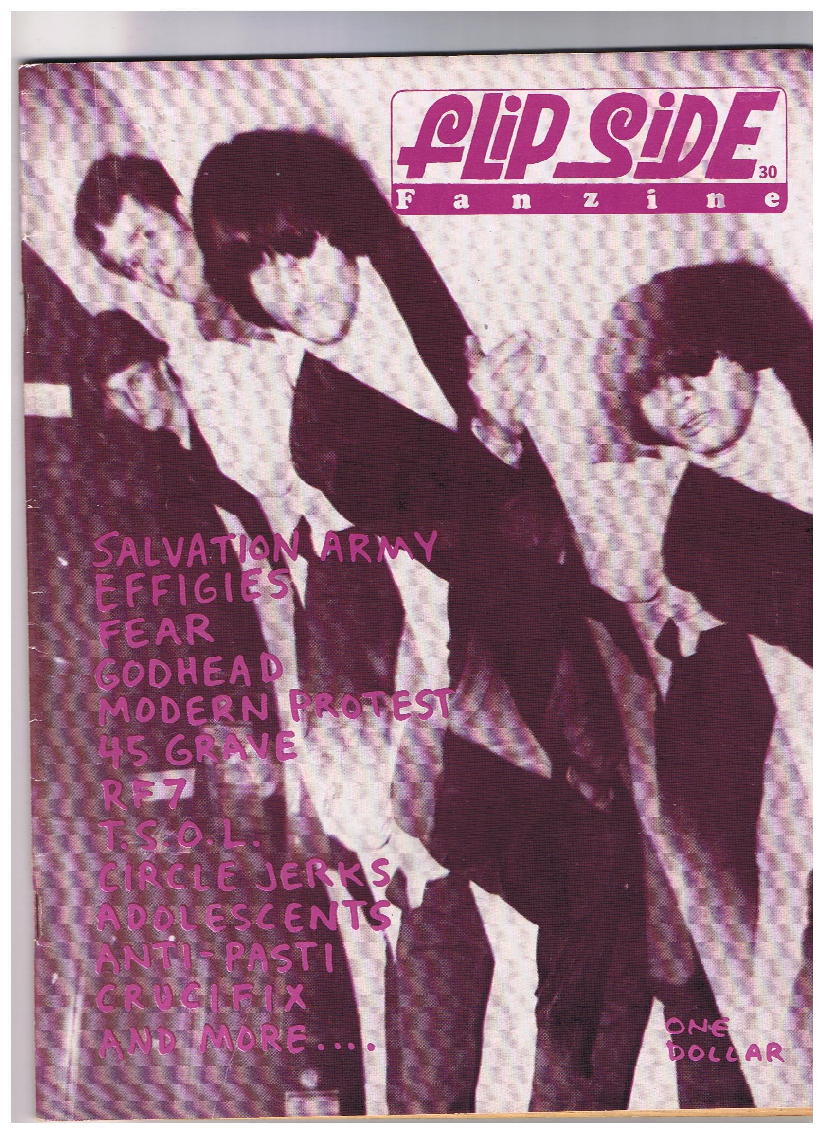 Salvation Army Flipside Fanzine