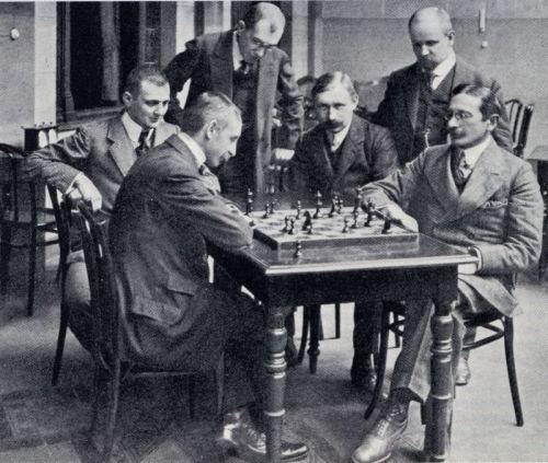 Tarrasch-Schlechter1911