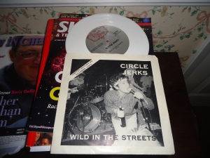 Circle Jerks colored vinyl