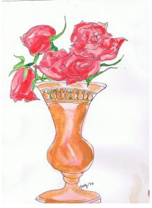 Red Roses...for Gloria and Shirley