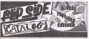 Cover of Flipside Catalog 001
