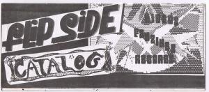 Cover of Flipside Catalog 001
