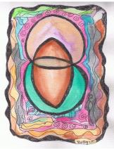 Sacred place water color by Hudley