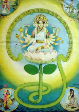 The_-Gayatri_mantra-_has_been_personified_into_a_goddess