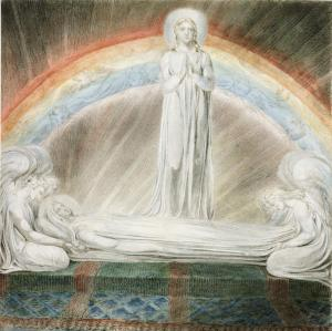 The Death of the Virgin 1803 William Blake 1757-1827 Presented by the executors of W. Graham Robertson through the Art Fund 1949 http://www.tate.org.uk/art/work/N05899
