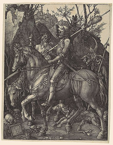 """The Knight, Death and the Devil"" by Albrecht Durer"