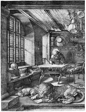 """St. Jerome"" by Albrecht Durer"