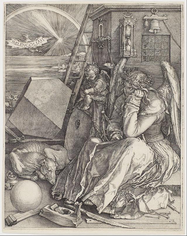 """Melancholia"" by Albrecht Durer"